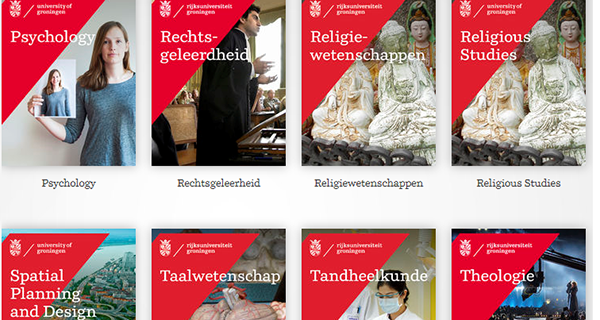 Create your own University of Groningen Magazine