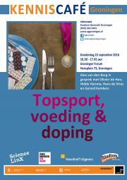 Kenniscafe Topsport, voeding en doping