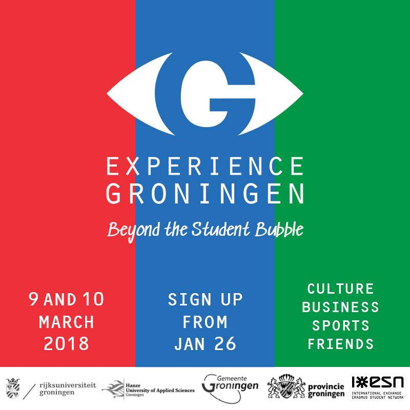 Poster Experience Groningen