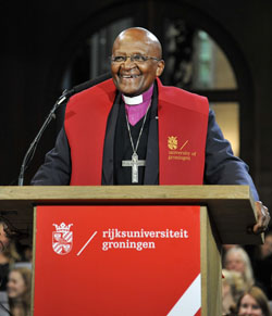 Archbishop Desmond Tutu (photo: Elmer Spaargaren)
