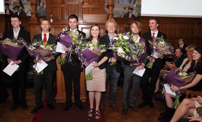 Guf 100 Prizes Awarded To Nine Excellent Students Casper