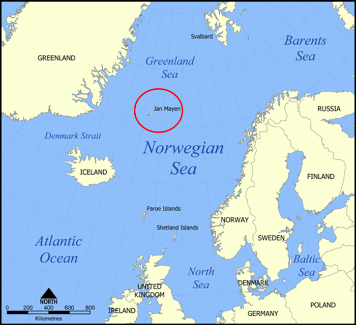 Jan Mayen Island Map Groningen researchers to visit Jan Mayen island with Dutch Navy
