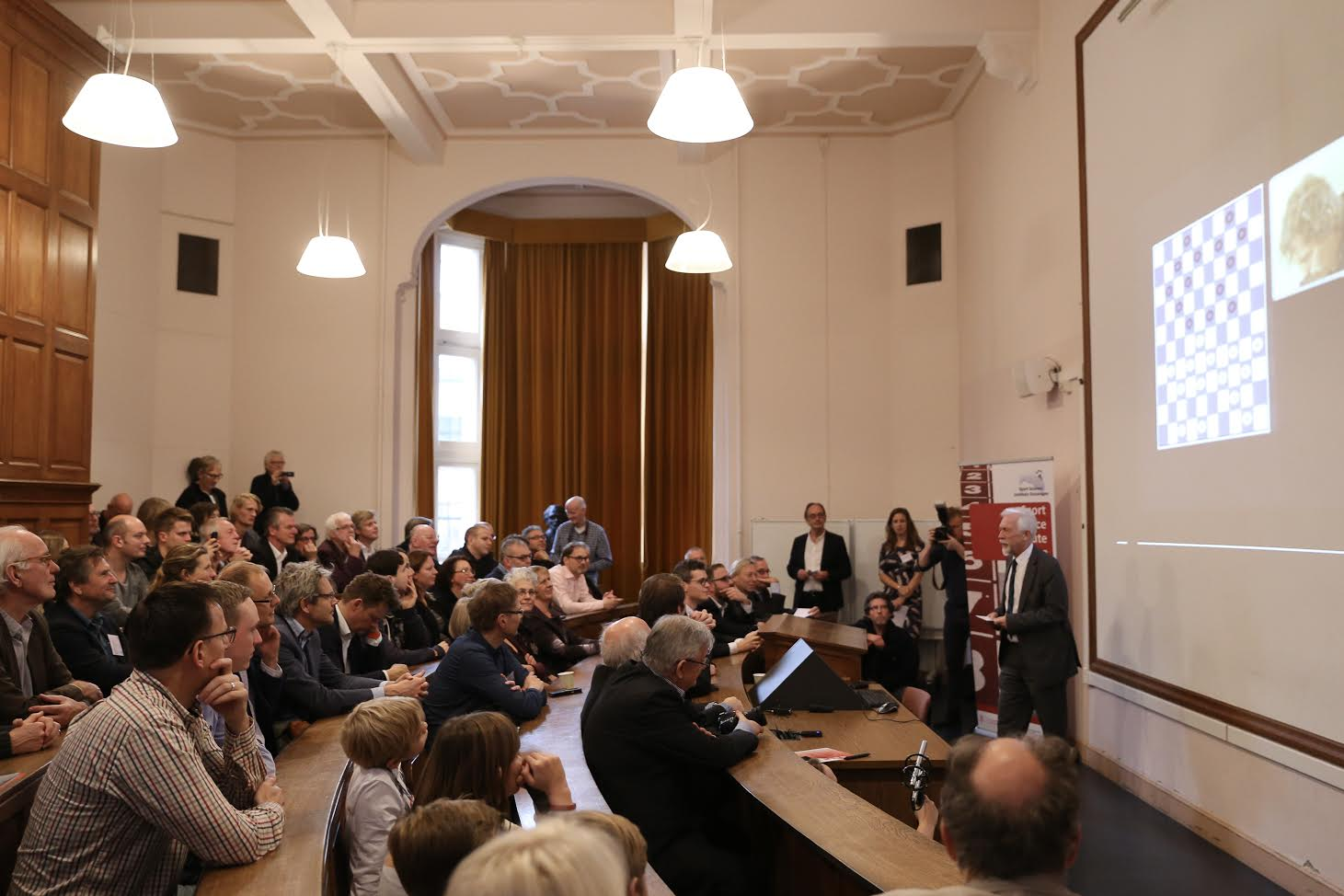 Opening of the symposium in the Academy building