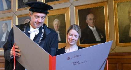 PhD ceremonies and inaugural lectures