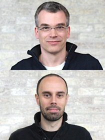 Matthias Heinemann (above) en Andreas Milias-Argeitis. Photo by Marina Guskova