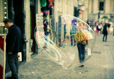 The filter bubble: a personalized bubble for each of us, containing news and information that fits our profile.