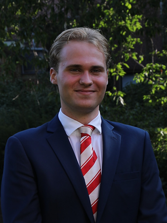 Teun Havinga is the new student assessor to the Board