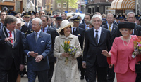 Royal delegation visits Groningen