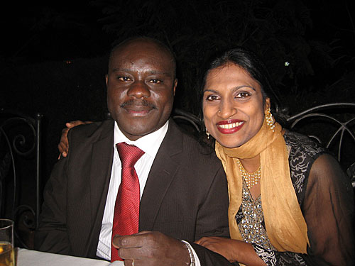 Geeta Thuraisingam and Serge Bayala