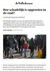 Volkskrant article