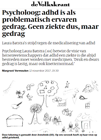 News article de Volkskrant