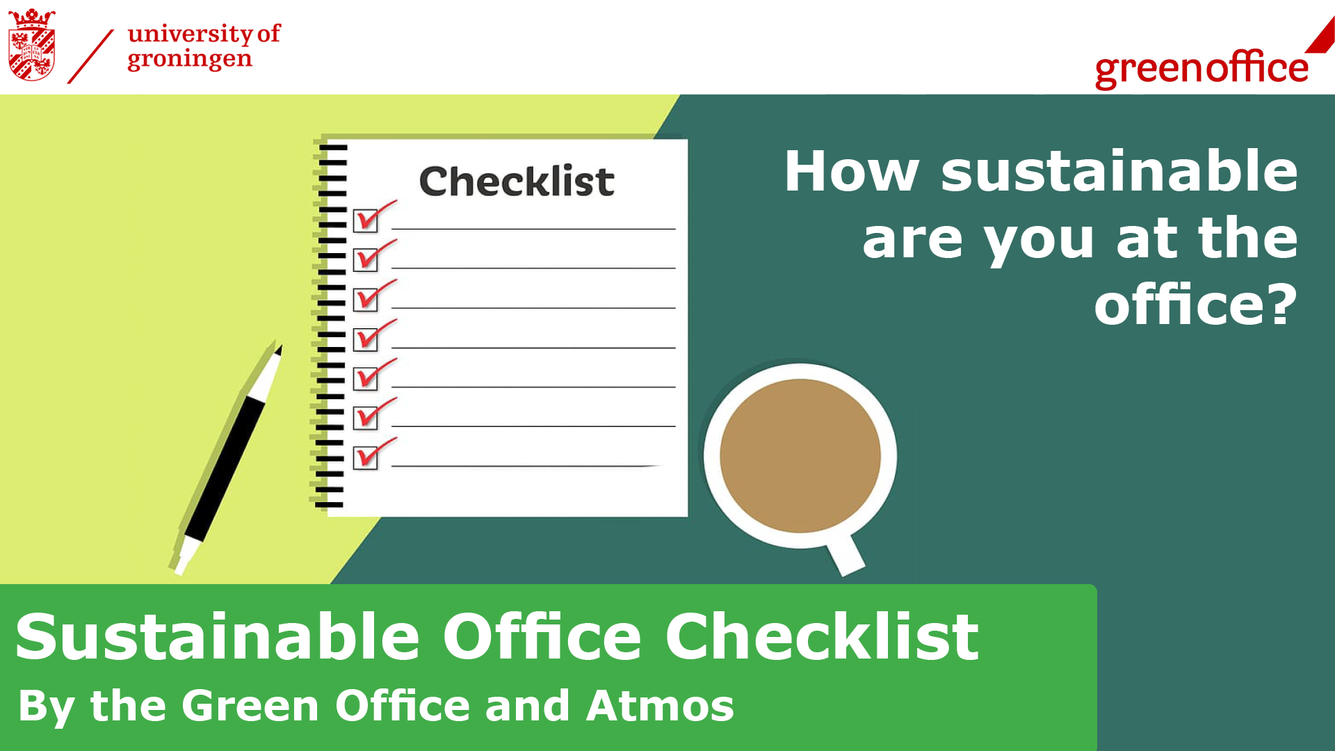 Sustainable Office Checklist
