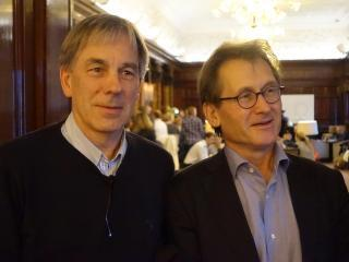 Ben Feringa and Bert Meijer