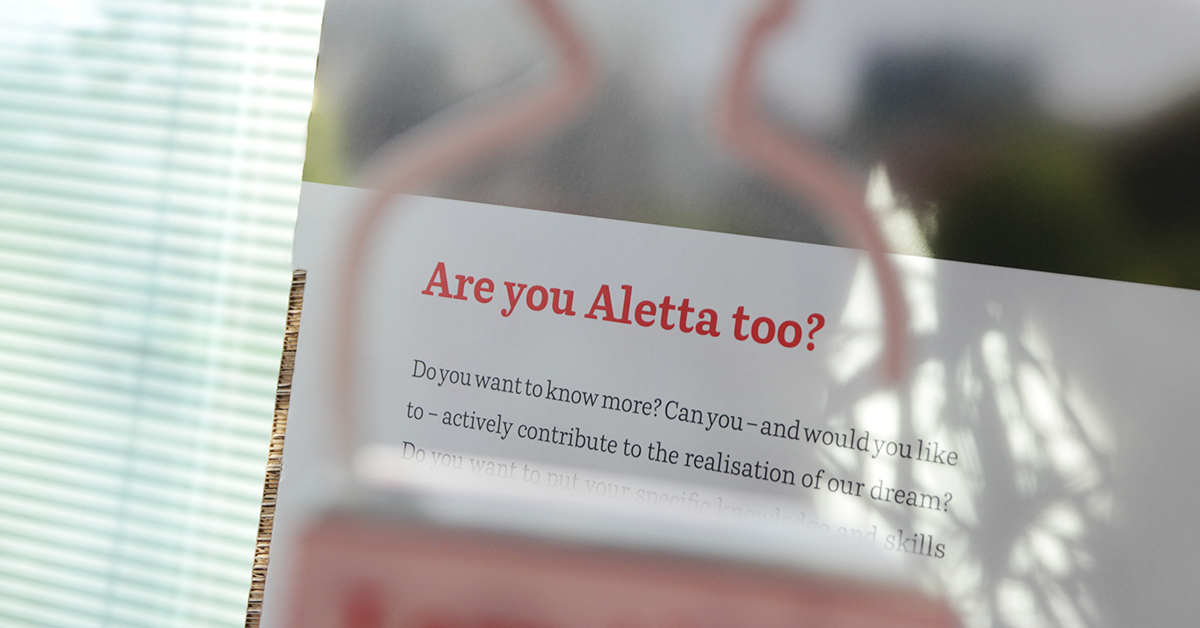 Read more about Aletta