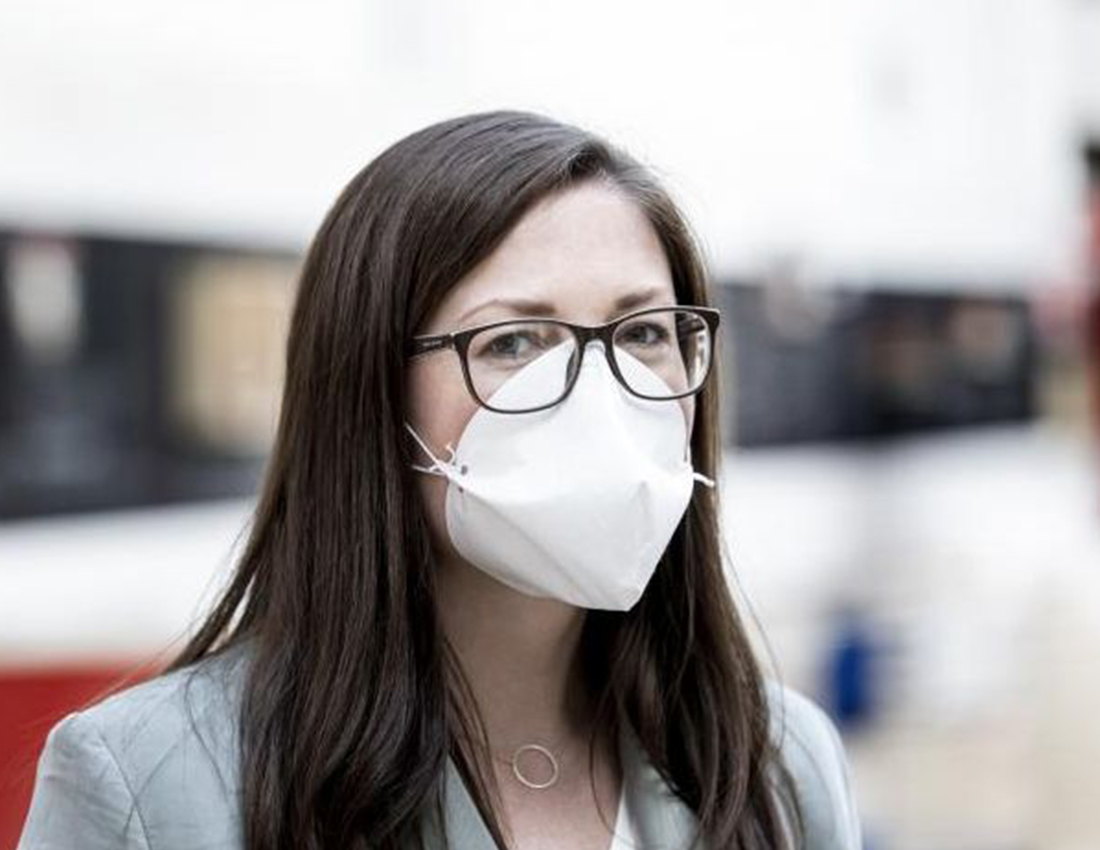 Masks instead of coffee filters and ventilators rather than cars