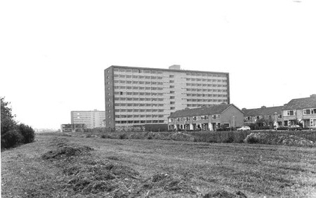 Selwerd student housing block 1969