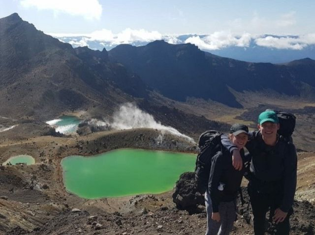 Weekend trip naar de Tongariro Crossing