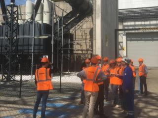 Walk around the Maxima-centrale Gas Power Plant
