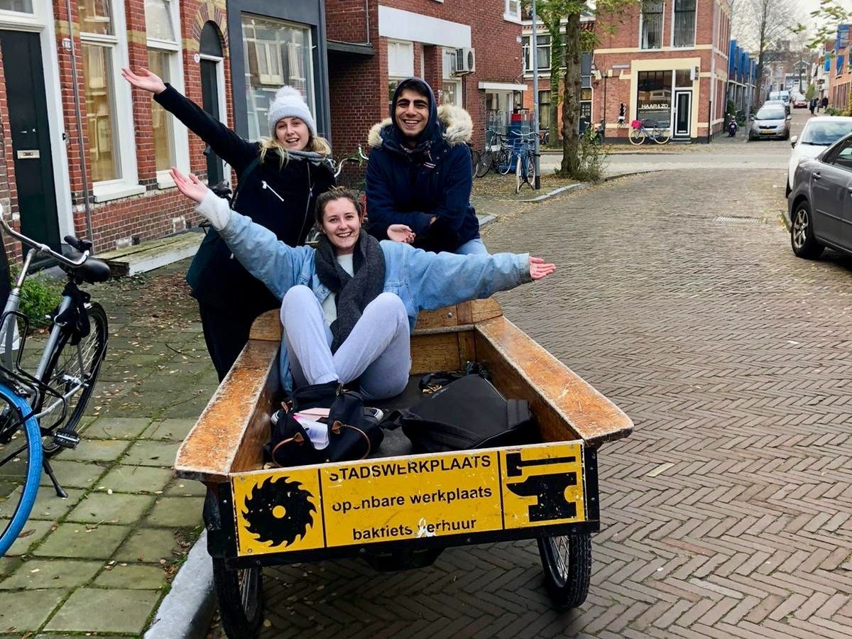 Moving house the Dutch way!