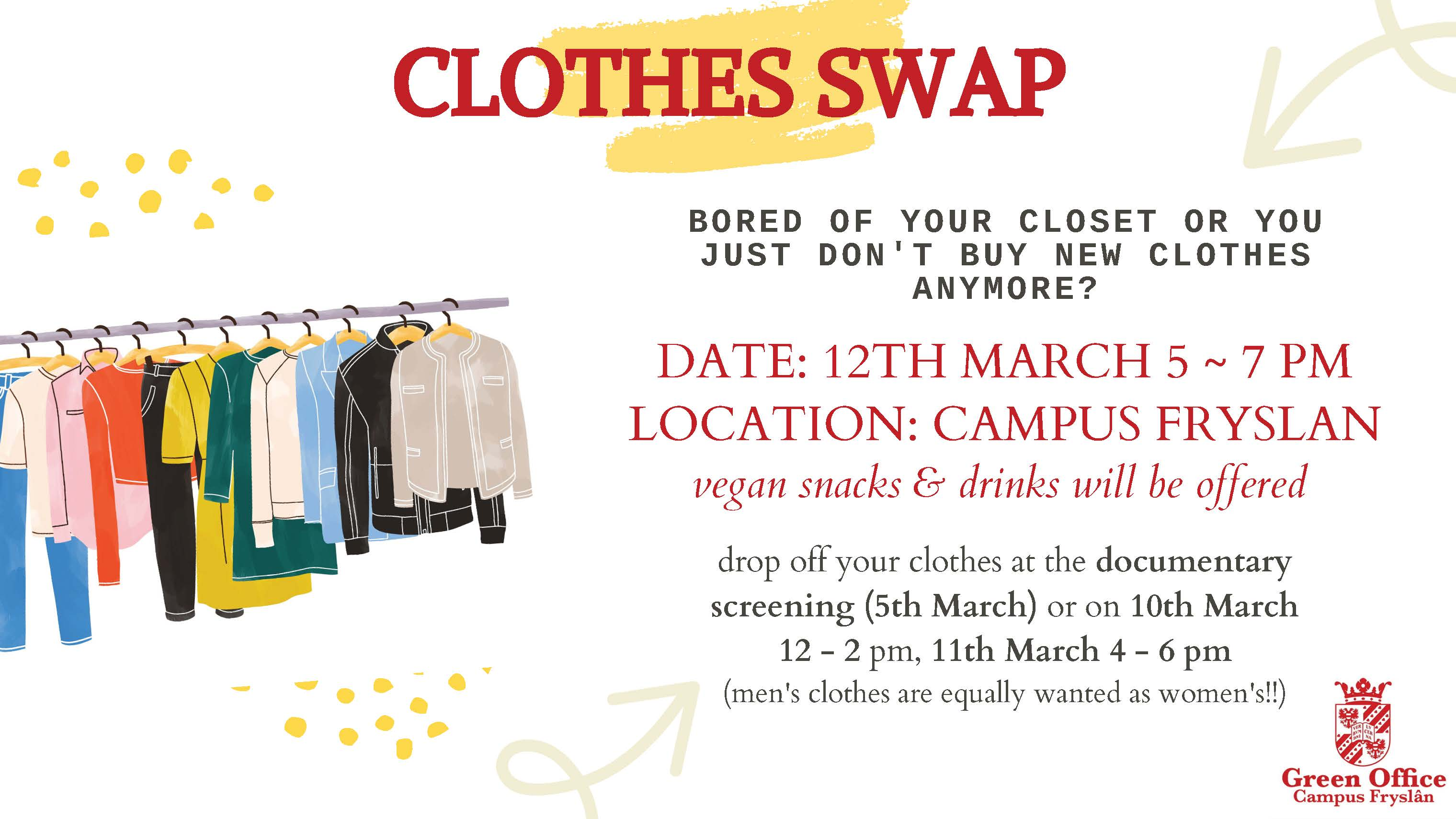 Next week's Clothing Swap