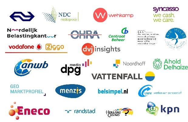Current overview of all the leading companies that are already members of the Customer Insights Center of the University of Groningen (RUGCIC).