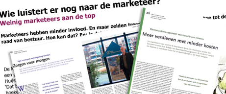 Customer Insights Center onderzoekers in de pers
