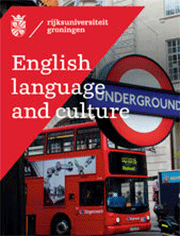 Brochure over de opleiding English Language and Culture