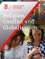 Brochure over de opleiding Religion, Conflict and Globalization