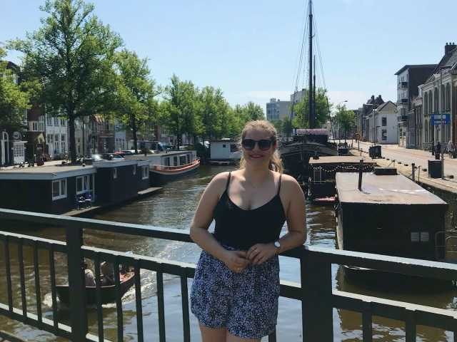 That's me at the canals!