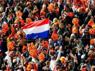 The Dutch are even crazier than usual on King's Day. Photo: Leeuwarder Courant