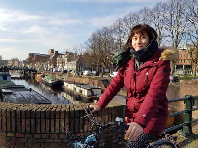 Cycling is one the first things you'll learn in Groningen!