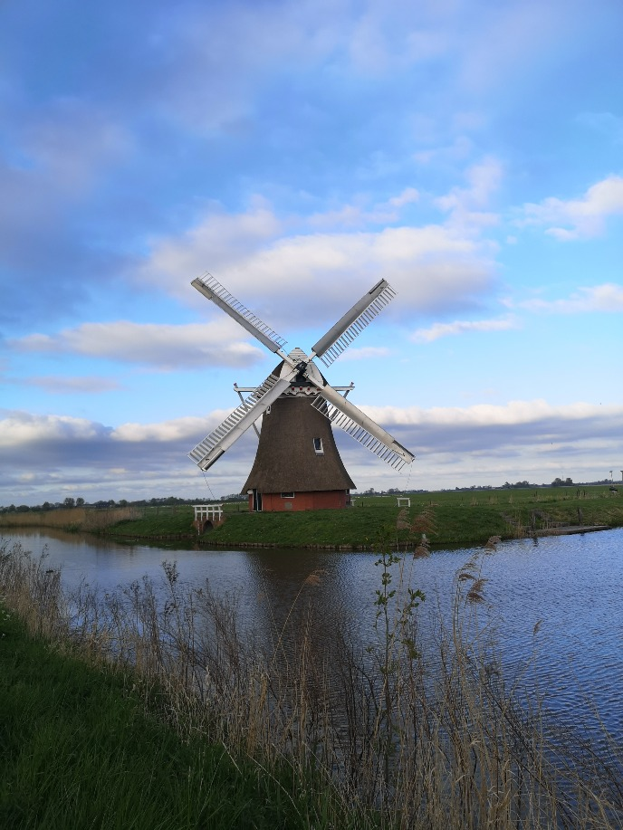 This windmill is found just outside of Zuidwolde!