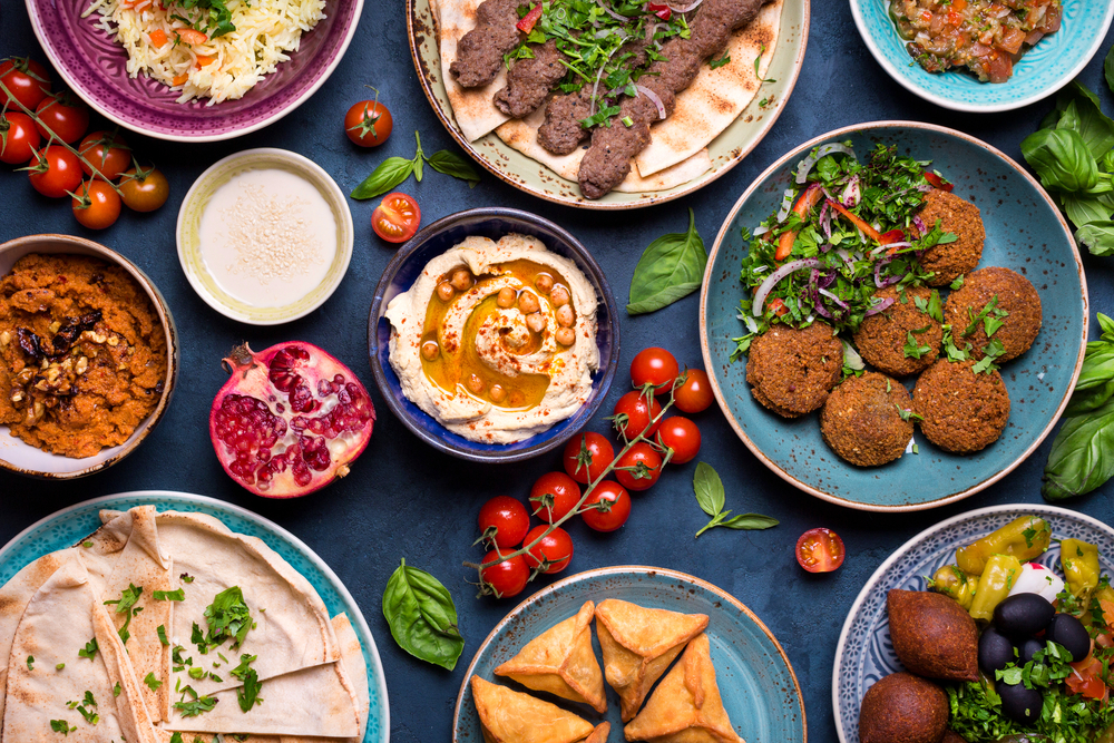 Middle Eastern food is probably quite different than what you're used to, but absolutely worth a try
