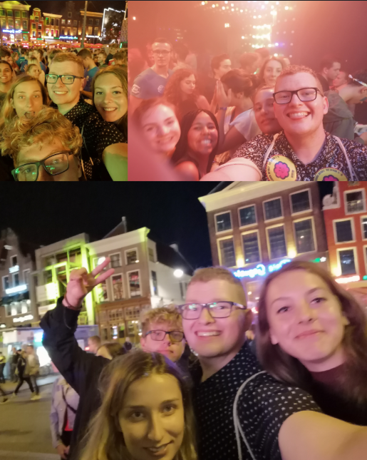 A night out during the KEI-week. Starting on the Grote Markt, ending in a bar at 02:00 AM being photobombed by our KEI-leader