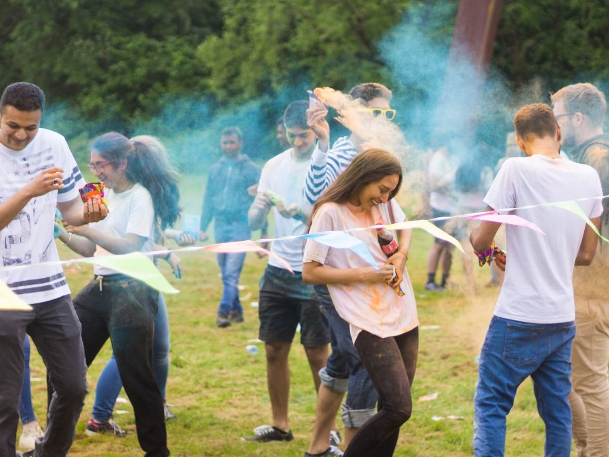 Join Holi: the festival of colors this weekend with GISA!