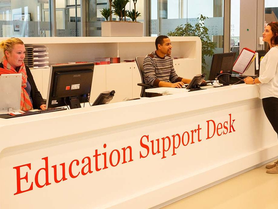 Some faculties have individual student support departments. Make sure to look around for them!