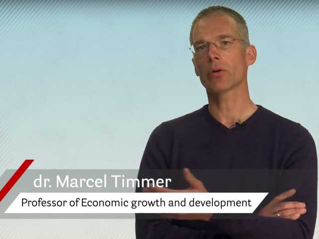 Dr Marcel Timmer is Professor of Economic growth and development at the Faculty of Economics and Business.