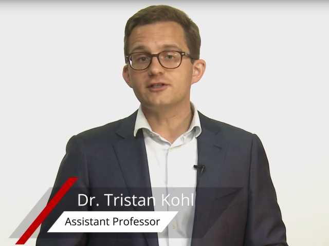 Tristan Kohl is an assistant professor at the Faculty of Economics and Business