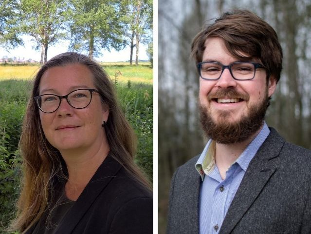 Dr Susanne Täuber (left) / Frederik Wermser MSc (right)