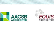 AACSB EQUIS logos