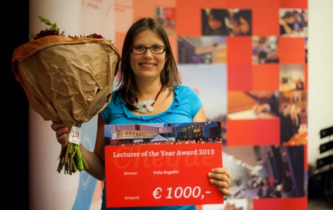 Viola Angelini, Lecturer of the Year
