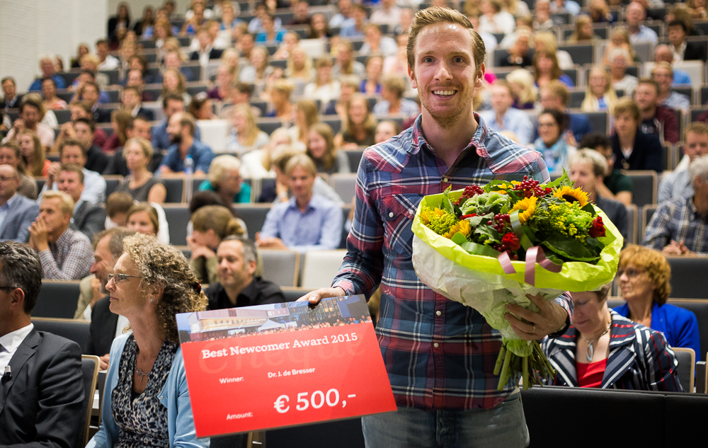 Best New lecturer of the year: Dr. Jochem de Bresser