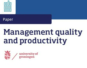 Banner CBS-research Management quality and productivity