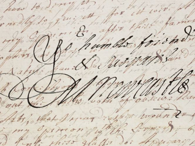 Cavendish's signature Source: Projectvox.org