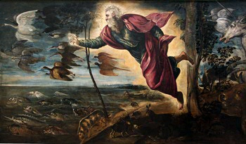 Jacopo Tintoretto, Creation of the Animals