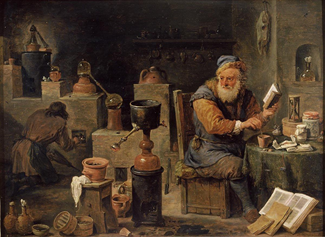 David Teniers The Younger: The Alchemist