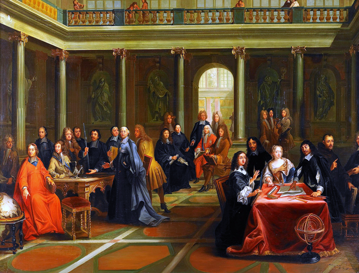 Nils Forsberg, Queen Christina in discussion with French philosopher René Descartes