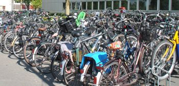 Bicycles at the Faculty of Spatial Sciences