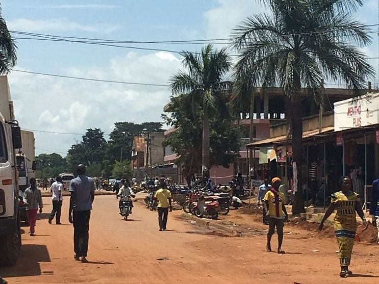 The streets of Gulu, Northern Uganda