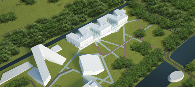 Possible impression of New Building Zernikeborg